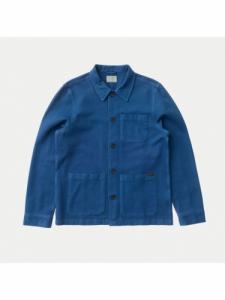 Barney Worker Jacket - Blue - Nudie Jeans