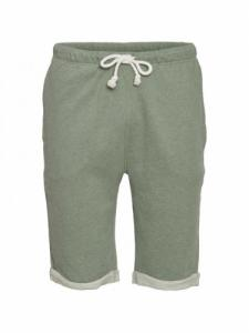 Teak Jog Short - Gren Melange  - Knowledge cotton apparel
