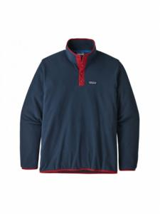 Micro D Snap T P/O - New Navy/Classic Red - Patagonia