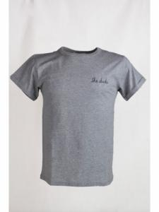 T-shirt The Dude - Light Heather Grey - Maison Labiche