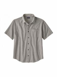 Chemise Organic Cotton Slub Popelin - End on End-Forge Grey - Patagonia