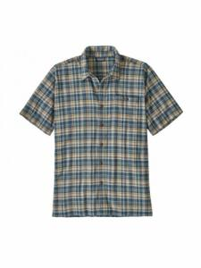 Chemise A/C  - Follow / Stone Blue - Patagonia