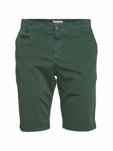 Chuck Regular Chino Short - Pineneedle - Knowledge cotton apparel