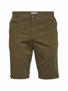 Chuck Regular Chino Short - Burned Olive - Knowledge cotton apparel