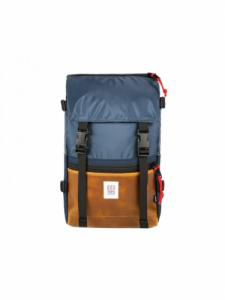 Sac à dos Rover Pack - Navy/Brown leather - Topo Designs