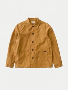 Barney Worker Jacket Waxed - Camel - Nudie Jeans