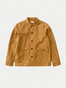 Barney Worker Jacket Waxed - Camel - Nudie Jeans