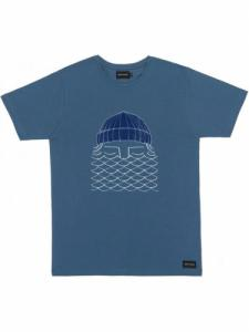 T-Shirt To The Sea - Blue - Bask in the sun