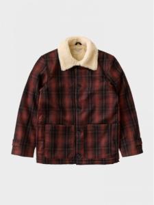 Mangan Lumber Jacket - Brick Red - Nudie Jeans