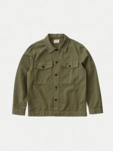 Veste Colin Utility Overshirt - Green - Nudie Jeans