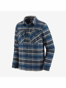 Insulated Fjord Flannel Jacket - Indep. New Navy - Patagonia