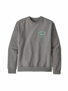 Sweat Surf Activists Uprisal Crew - Gravel Heather - Patagonia