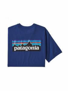 P-6 Logo Responsibili-tee - Superior Blue - Patagonia