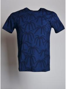 T-shirt Plantation - Blue - OLOW