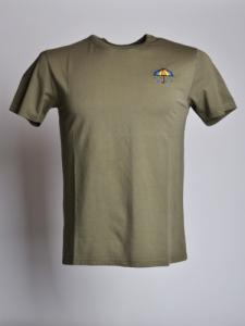T-shirt Parapluie - Green - OLOW
