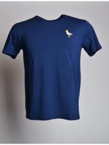 T-shirt Mouette - Bleu - OLOW