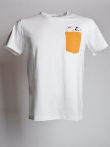 T-shirt Beddy - Off White - OLOW