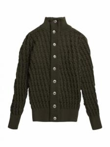 Stark cardigan - Deep Bronze Green - SNS Herning