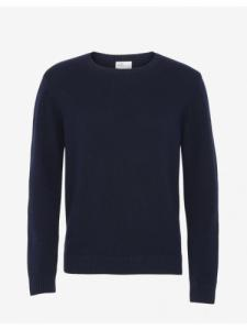 Classic Merino Wool Crew - Navy Blue - Colorful Standard