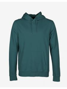 Classic Organic Hood - Ocean Green - Colorful Standard