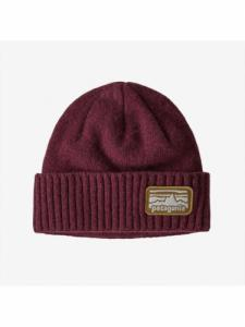 Brodeo Beanie - Fitz Roy Rambler : Chicory Red - Patagonia