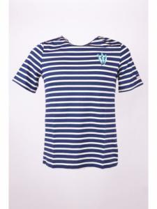 T-shirt - Sardines - Marine - OLOW x SAINT JAMES