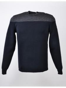 Pull Matelot 1 Bico LSF - Navy / Gris - Saint James