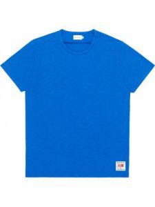 T-shirt Taiyo - Cobalt - Bask in the sun