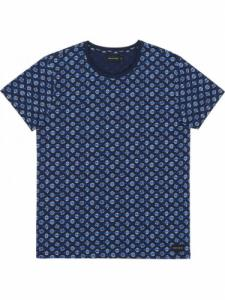 T-Shirt Geofish - Navy - Bask in the sun