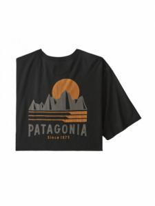 T-shirt Tube View Organic - Black - Patagonia