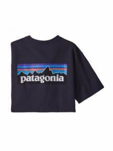 P-6 Logo Responsibili-Tee - Piton Purple - Patagonia