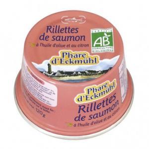 Rillette de saumon huile d'olive et citron