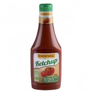 Ketchup sans saccharose bio