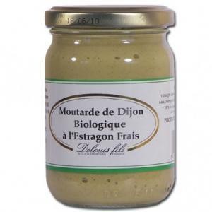 Moutarde de Dijon bio à l'Estragon frais