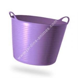 Baquet coloré Violet Pale 26L