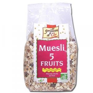Muesli 5 fruits bio