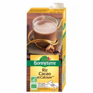 Boisson au riz cacao et calcium végétale bio