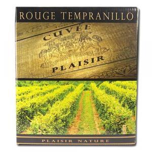 Vin rouge Tempranillo bio