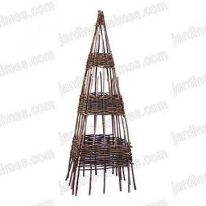 Pyramide Osier 120cm