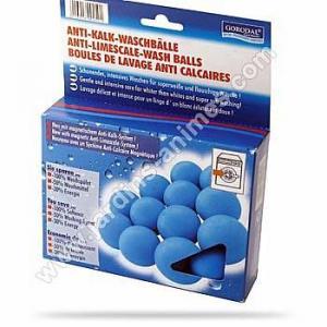 Boules de lavage anti calcaire lave linge x6