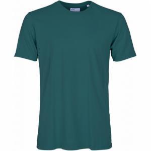 T-shirt vert en coton bio - ocean green - Colorful Standard