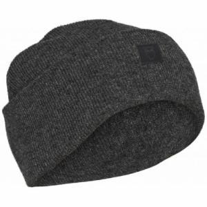 Bonnet gris chiné en laine bio - leaf - Knowledge Cotton Apparel