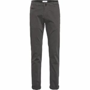 Pantalon chino droit gris foncé en coton bio - chuck - Knowledge Cotton Apparel