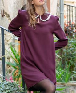 Robe justine - bordeaux - April & C