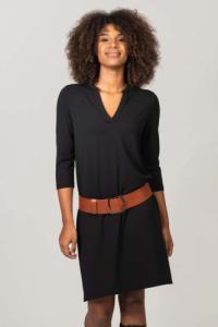 Robe courte tania noir - Thelma Rose