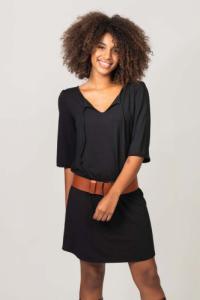 Robe courte ysé noir - Thelma Rose