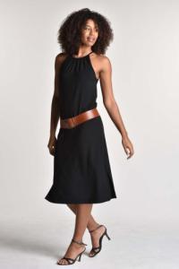 Robe kenya noir - Thelma Rose