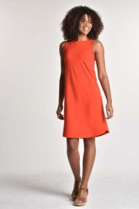 Robe débardeur ziggy orange - Thelma Rose