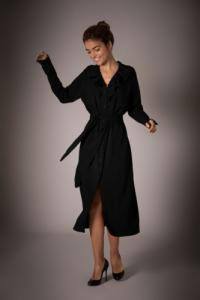 Robe zaïre noire - Maison People