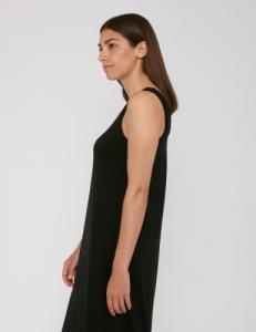 Robe noire légère en tencel - Organic Basics